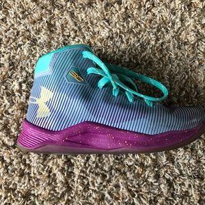 Under Armour Steph Curry Basketball Shoes Boys SZ1